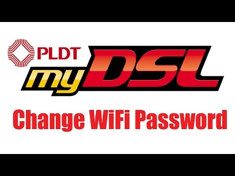 How to Change PLDT MYDSL WiFi Password