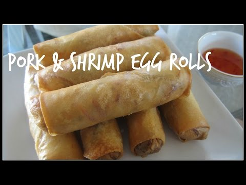 How to make EGG ROLLS   House of X Tia