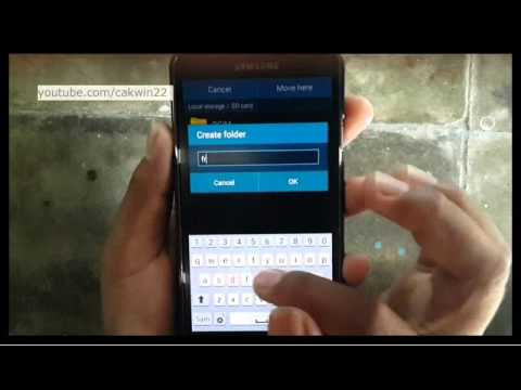 Samsung Galaxy S5 : How to move file to SD Card (Android Phone)