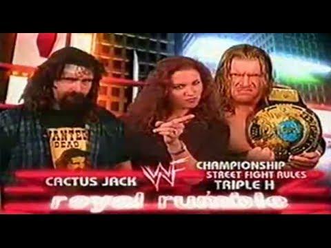 Triple H vs Cactus Jack (Parte Final) - Royal Rumble 2000