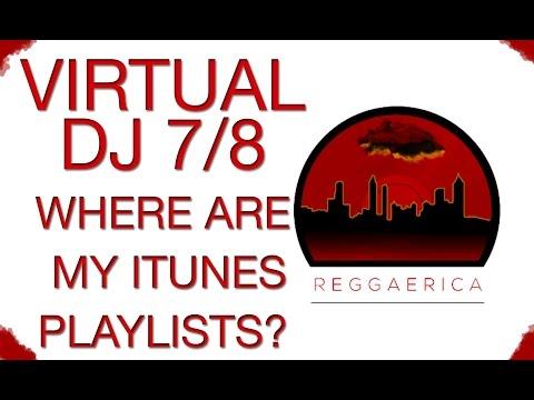 Virtual DJ 8 - Mac iTunes Playlist Quick Fix