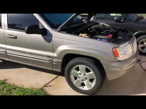 Replacing the Shocks on a Jeep WJ Grand Cherokee