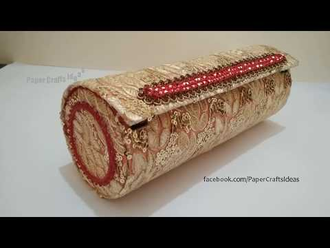 How to make Jewelry Box | Best Out of Waste Craft Idea | DIY Jewelry Box | How to Make Bangle Box