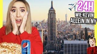 wie KEVIN allein in NEW YORK video 1 Tag LEBEN und ESSEN (Central Park PIZZA EIS)