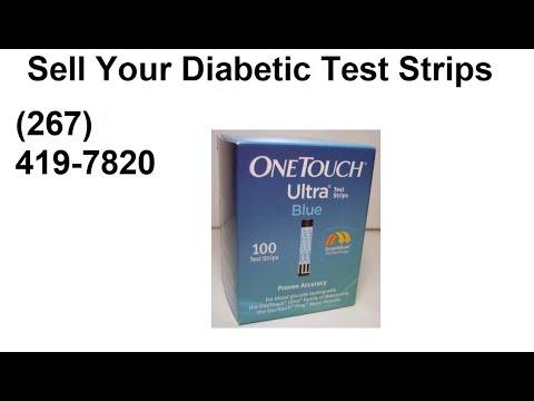 Sell Diabetic Test Strips Philadelphia (267) 419-7820 test strip buyers