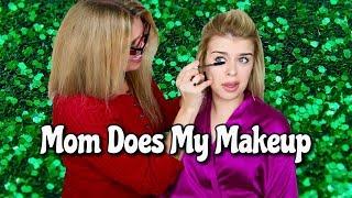 SOS my mom did my makeup