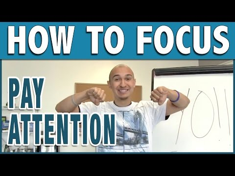 🔥 Improve Your Focus Tip To Help You Pay Attention | Study Skills for Better Grades In Class