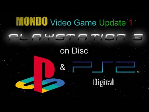 MONDO Video Game Update 1 - PS3 Disc and PS1/PS2 Digital