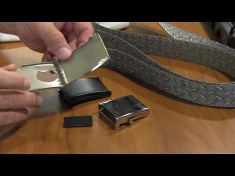 Brooklyn John from Strapworks.com Teaches You How to Make a Military Buckle Webbing Belt