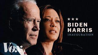 Joe Biden and Kamala Harris inauguration ceremony