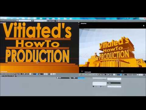 HOW TO MAKE CUSTOM 20th Century Fox Searchlight  INTRO PT #2