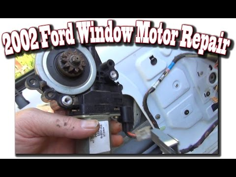 2002 Windstar Window Motor Repair