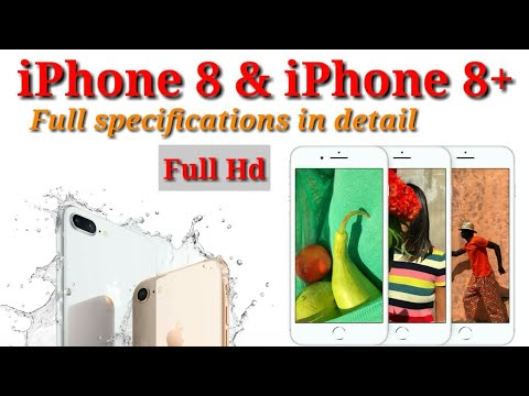 iPhone 8 and iPhone 8 plus review and specifications in hindi | Full Hd 1080p