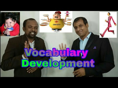 Vocabulary Development in English || Spoken English Classes Videos