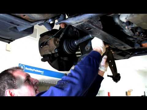 BMW 3 Series E46 (325xi) Front Lower Control Arm, Replacing - DIY Repair
