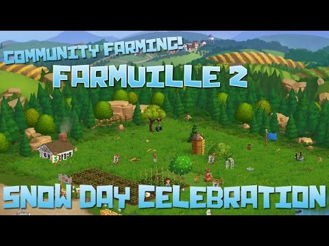 Farmville 2! Snow Day Celebration!! - Episode #50
