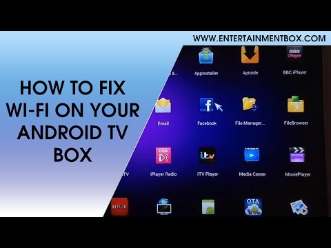 HOW TO FIX WIFI ON MX2, HOW TO FIX WIFI ON ANDROID TV BOX, G-BOX MIDNIGHT WIFI FIX