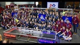 Final Match 2 Teams 195, 5687, 7153 Southern CT New England District 2018