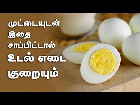 Best Egg Combos That Double Your Weight Loss - Tamil Weight Loss Tips