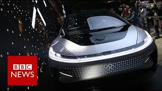 CES 2017: Faraday Future shows