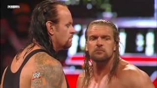John Cena & The Undertaker vs  Triple H & Shawn Michael vs  Chris Jericho & Big Show