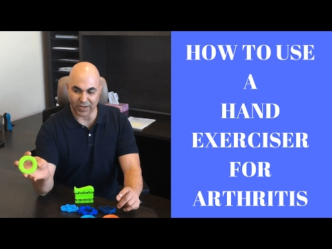 How to use hand exerciser for arthritis and hand strengthening