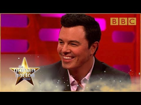 Seth MacFarlane performs his Family Guy voices - The Graham Norton Show: Series 15 - BBC One