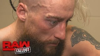 Enzo Amore receives stitches: Raw Fallout, Jan. 8, 2018