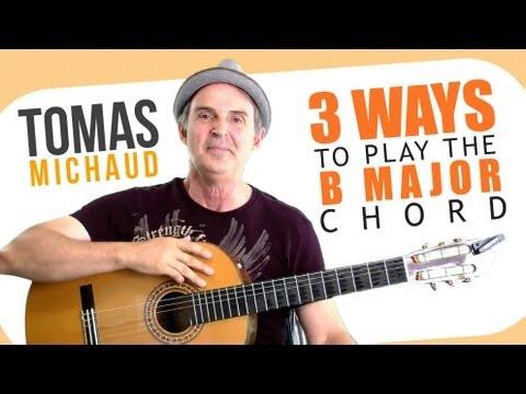 3 Easy(iest) B Chord Guitar Finger Position - Beginning Guitar