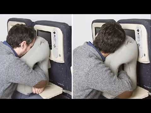 New travel pillow!!! Where you bury your face in the cushion