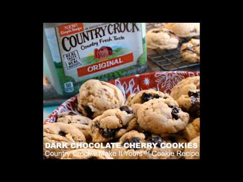 Country Crock® Make It Yours™ Chocolate Cherry Cookies