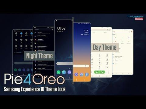 Samsung Pie Theme | Samsung Experience 10 Look For Oreo