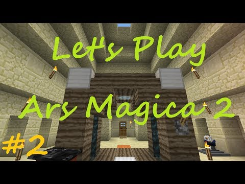 Minecraft - Ars Magica 2 Let's Play - Part 2 - Projectile Dig