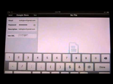 How to Edit Google Docs on an iPad