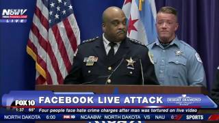 SHOCKING: 4 People Charged w/ HATE CRIME After ATTACK of Mentally Disabled Man on Facebook LIVE FNN