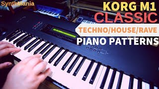 Korg M1 piano and organ   Famous sounds and songs - PakVim