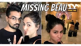 Akshara, Hina Khan is off to Spain, but she is already missing beau | TV Prime Time