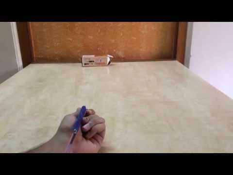 How to make pen slingshot