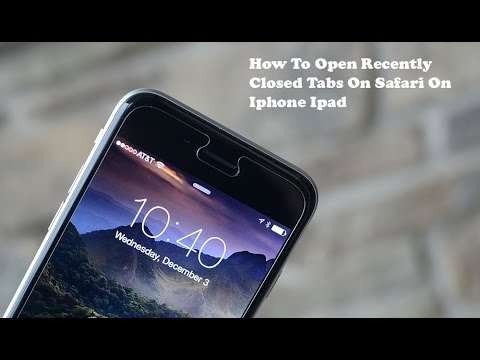How to Open Recently Closed Tabs in Safari on iPhone or iPad - Fliptroniks.com