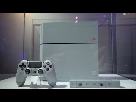 The PS4 20th Anniversary Edition is BEAUTIFUL!
