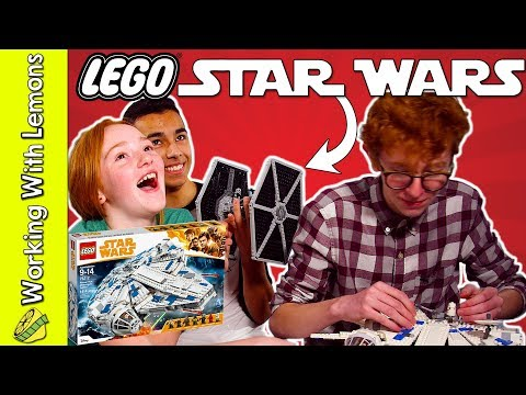 LEGO Star Wars Kessel Run Millennium Falcon Speed Build