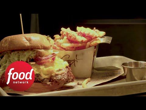 Bacon Mac 'N Cheese Burger | Food Network