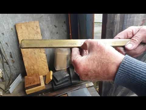 Part 10 Making a metal mitre plane.