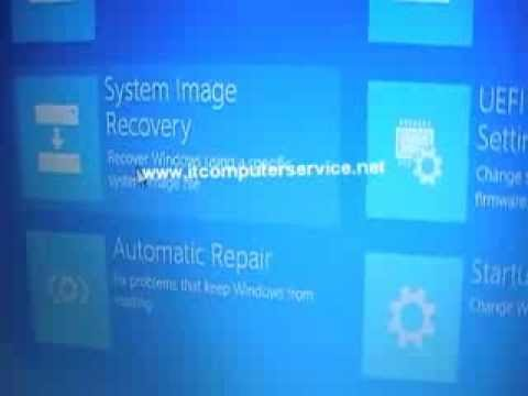 How to boot to DVD or Flash Drive on a Windows 8 HP Laptop