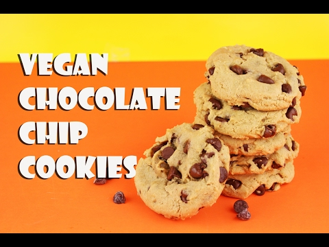 Soft & Chewy Vegan Chocolate Chip Cookies || Gretchen's Bakery