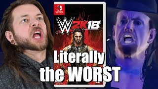 WWE 2K18 IS THE WORST NINTENDO SWITCH GAME YET