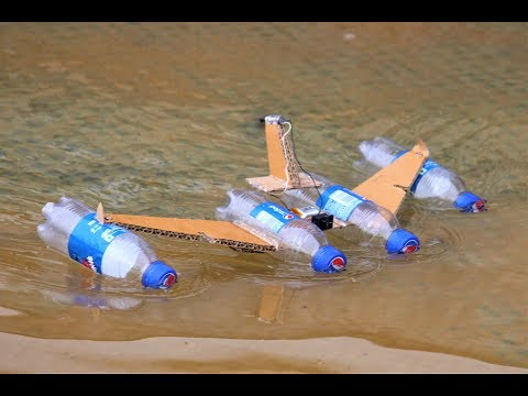 How to make a Battle Boat Using High Speed RC Motor - Boat