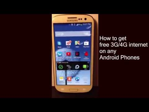 How To Use Free Internet on Mobile | How to get free 3G/4G internet on any Android Phones (Easy way)