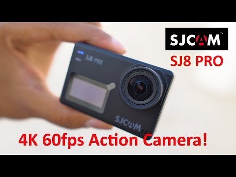 Sjcam SJ8 Pro Action Camera Unboxing with 4K 60fps Video Samples!