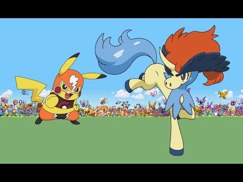 Pikachu And Keldeo Don't Like Each Other?! - My Pal Pikachu